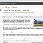 A takto čláenk vypadá v editoru v redakčním systému